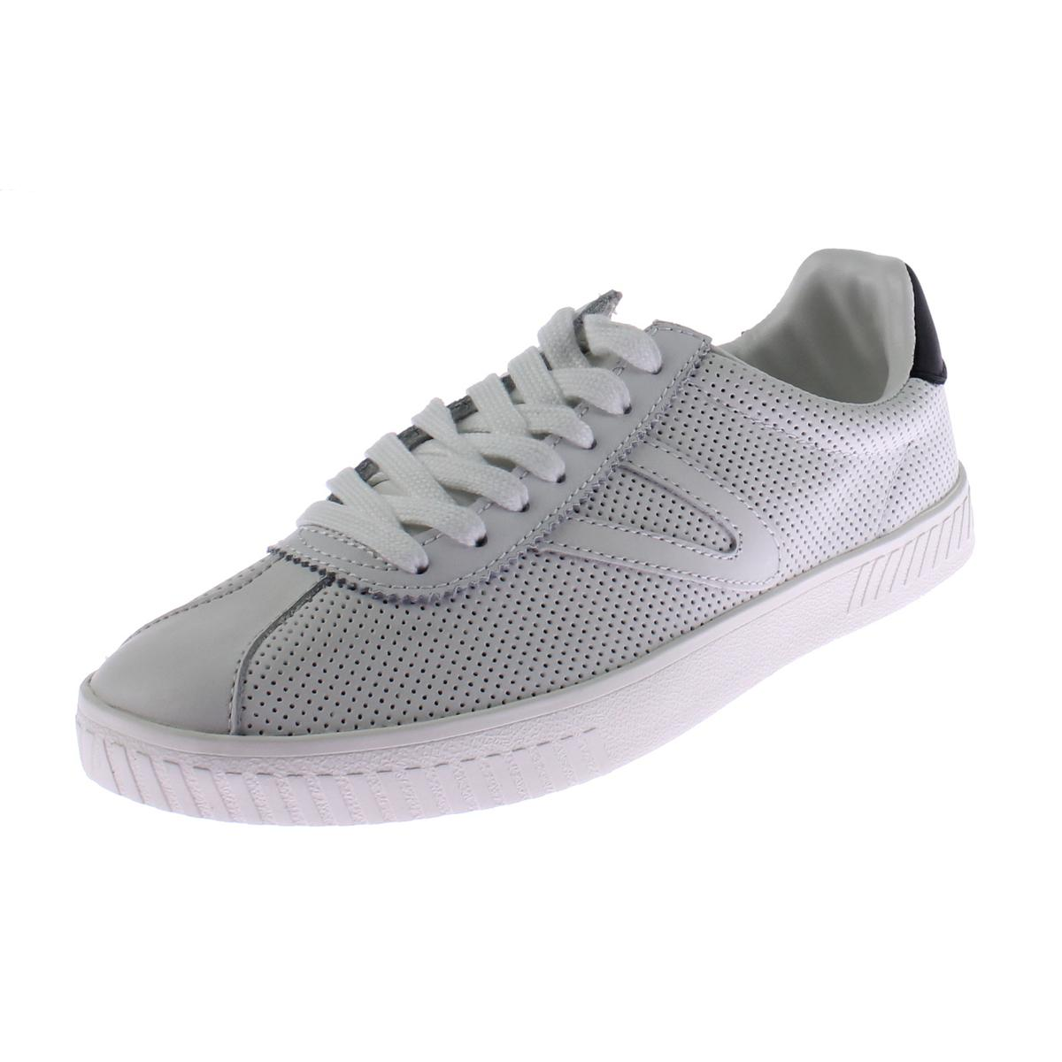 Tretorn Mens Camden 2 Leather Perforated Fashion Sneakers by Tretorn