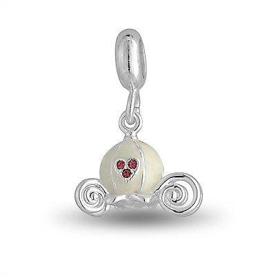 DaVinci Beads Charm - FAIRY TALE CARRIAGE Dangle Charm