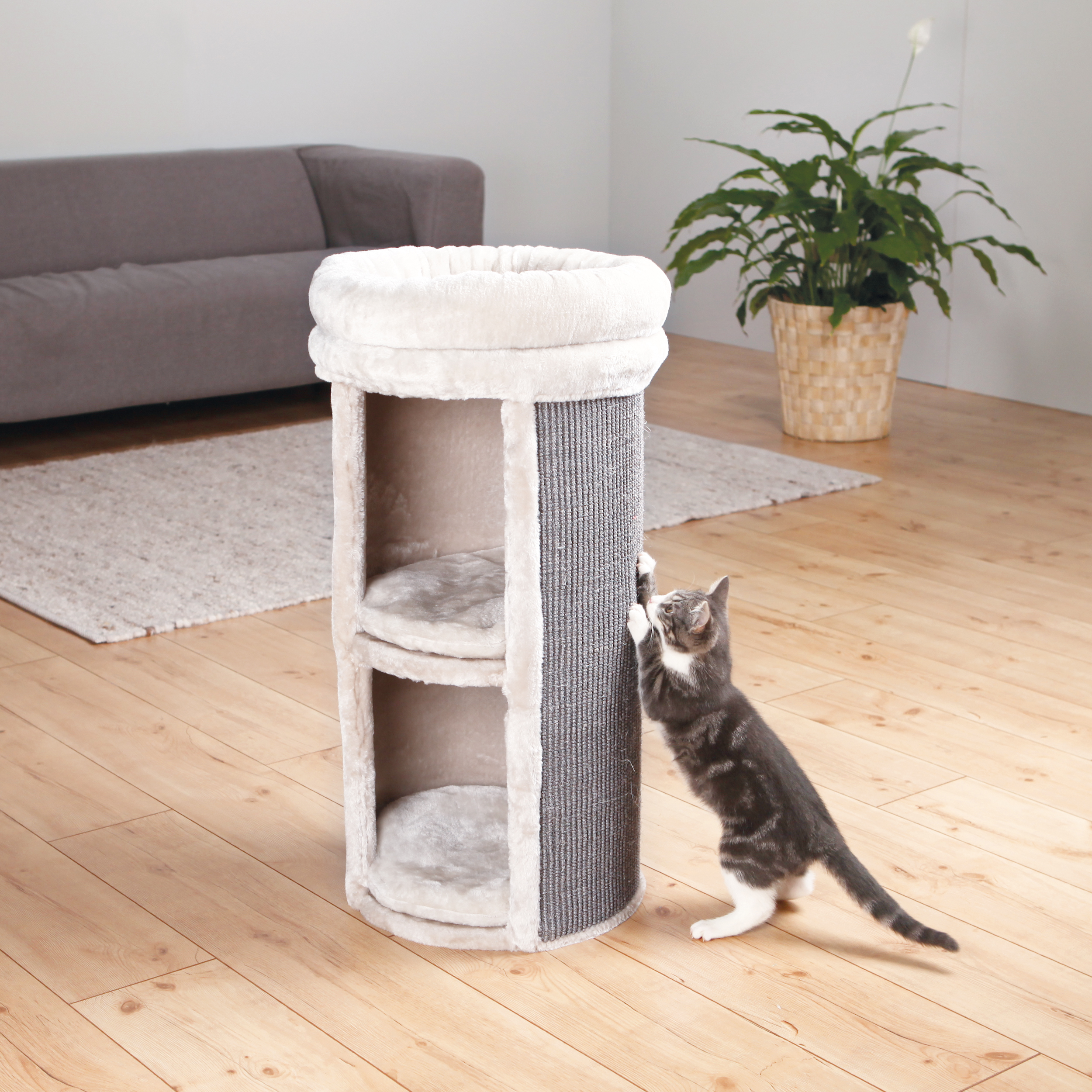 Trixie Pet Mexia 2-Story Cat Tower