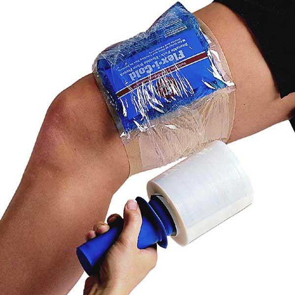"""Cramer Flex-I-Wrap Roll - 6 count-4"""" Blue w/o Handle"""