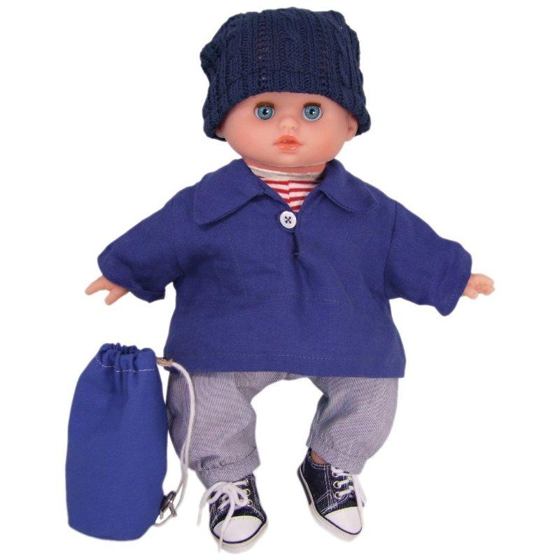 Petitcollin 11 Cuddly First BOY Baby Doll Sailor Finister...