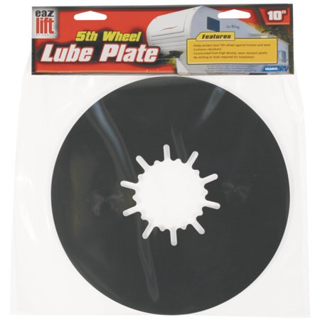 Camco 44675 5th Wheel RV Lube Plate, 12