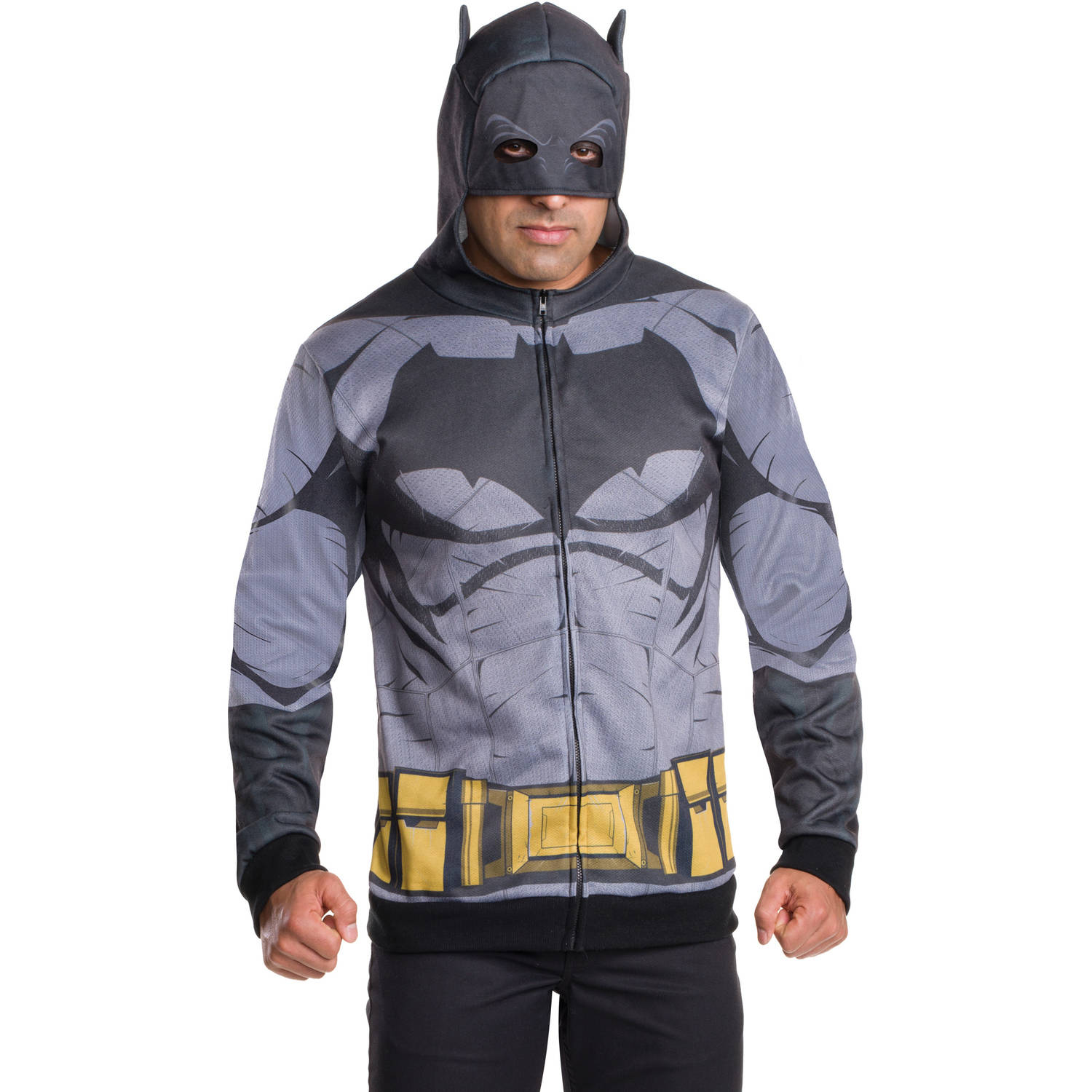 Batman Hoodie Adult Halloween Costume