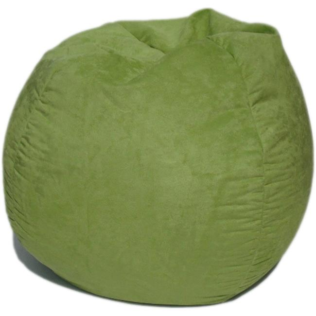 Bean Bag Boys BB-35-FS-LIME Faux Suede Bean Bag, Lime