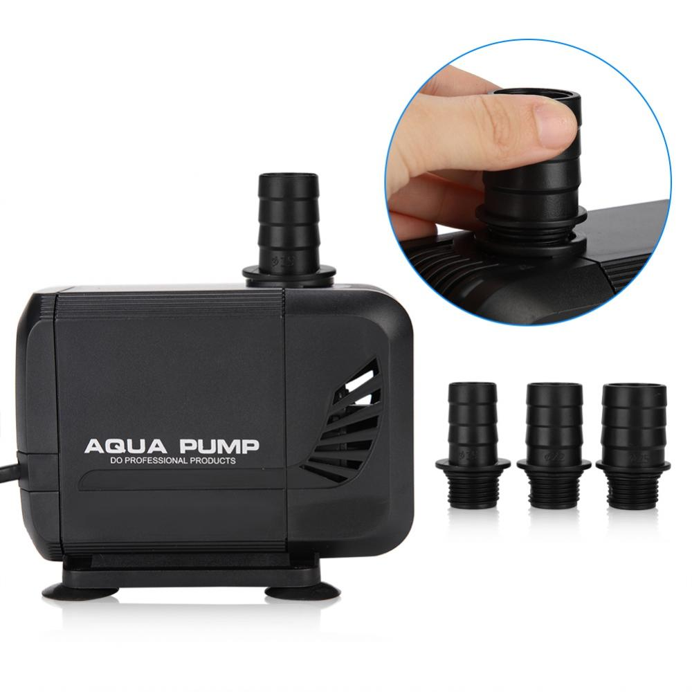 WALFRONT Fish Tank Aquarium Submersible Pump Fountain Pond Water Circulation 110V US Plug,Fish Tank Submersible Pump,Aquarium Water Pump - image 5 de 7