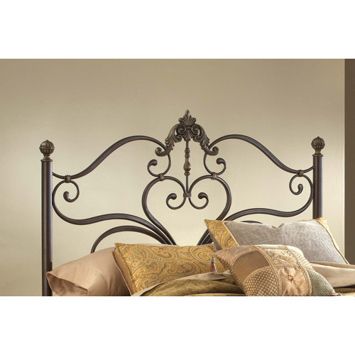 Hillsdale Furniture Newton King Headboard with Frame, Antique Brown