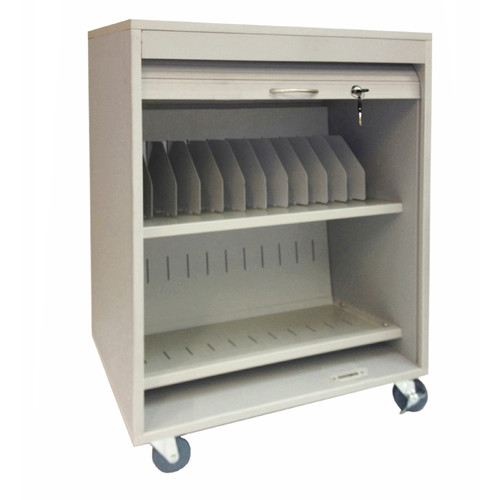 Sandusky Cabinets 11-Compartment Tablet Storage Cart