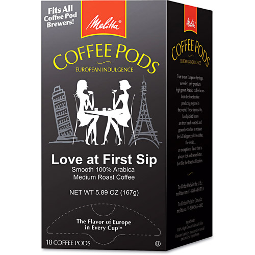 Melitta Love at First Sip Coffee Pods, 18ct