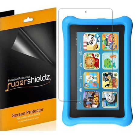 3 Pack  Supershieldz  All New Fire 7 Kids Edition Tablet 7  Screen Protector   7Th Generation   2017 Release Only   Screen Protector  Anti Glare   Anti Fingerprint  Matte  Shield