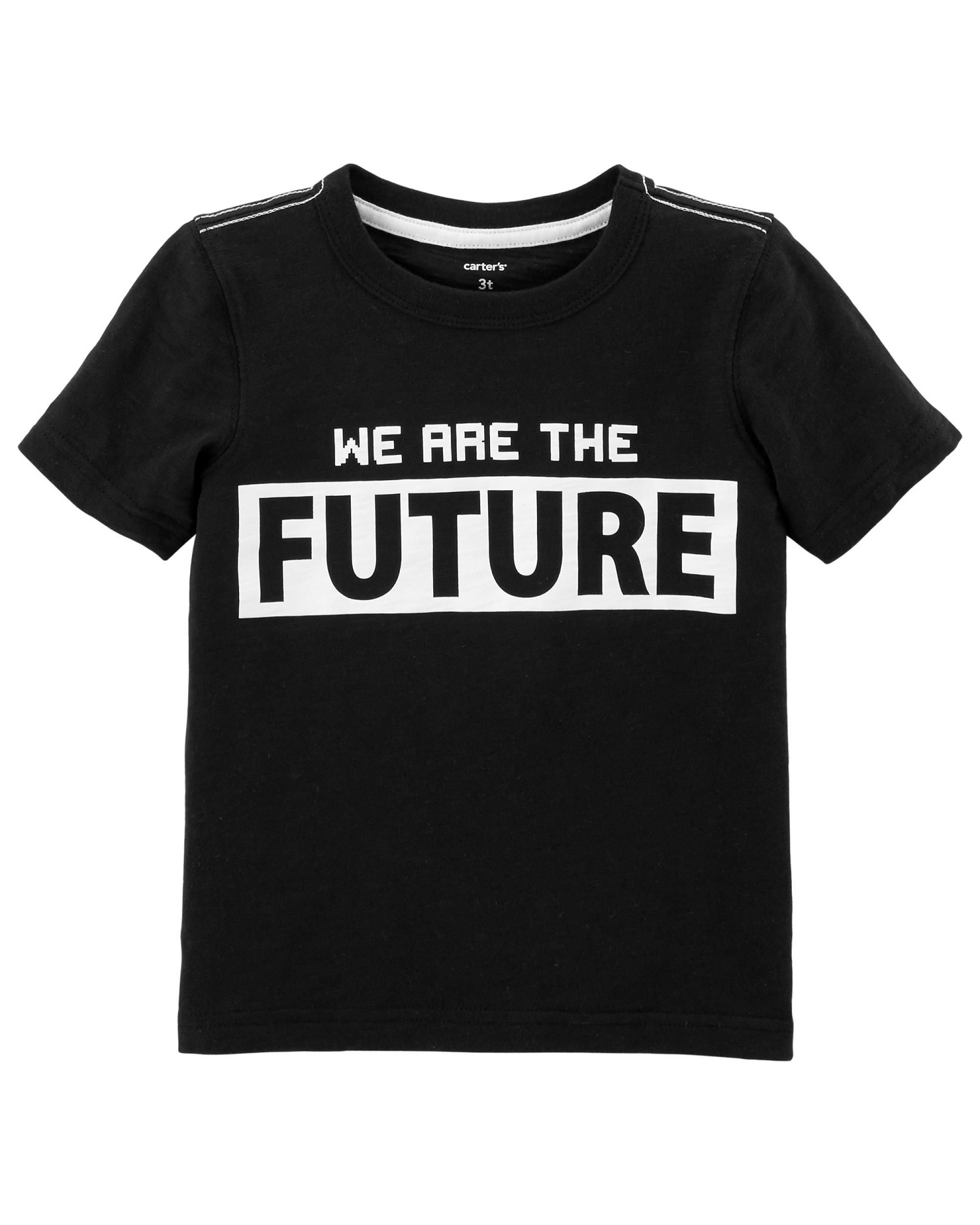 Carter's Little Boys' I Am The Future Slub Jersey Tee