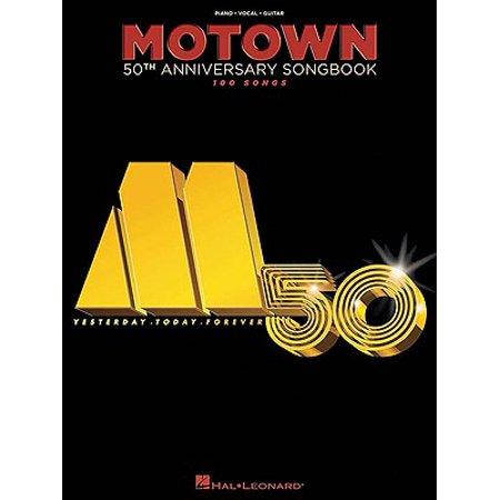 Motown 50th Anniversary Songbook : 100 Songs