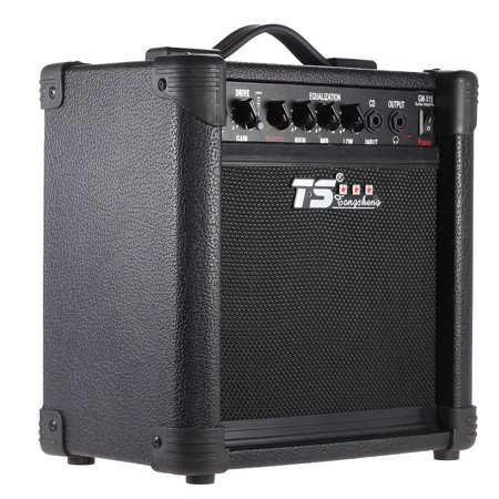 professional 3 band eq 15w electric guitar amplifier amp distortion with 6 5 speaker. Black Bedroom Furniture Sets. Home Design Ideas