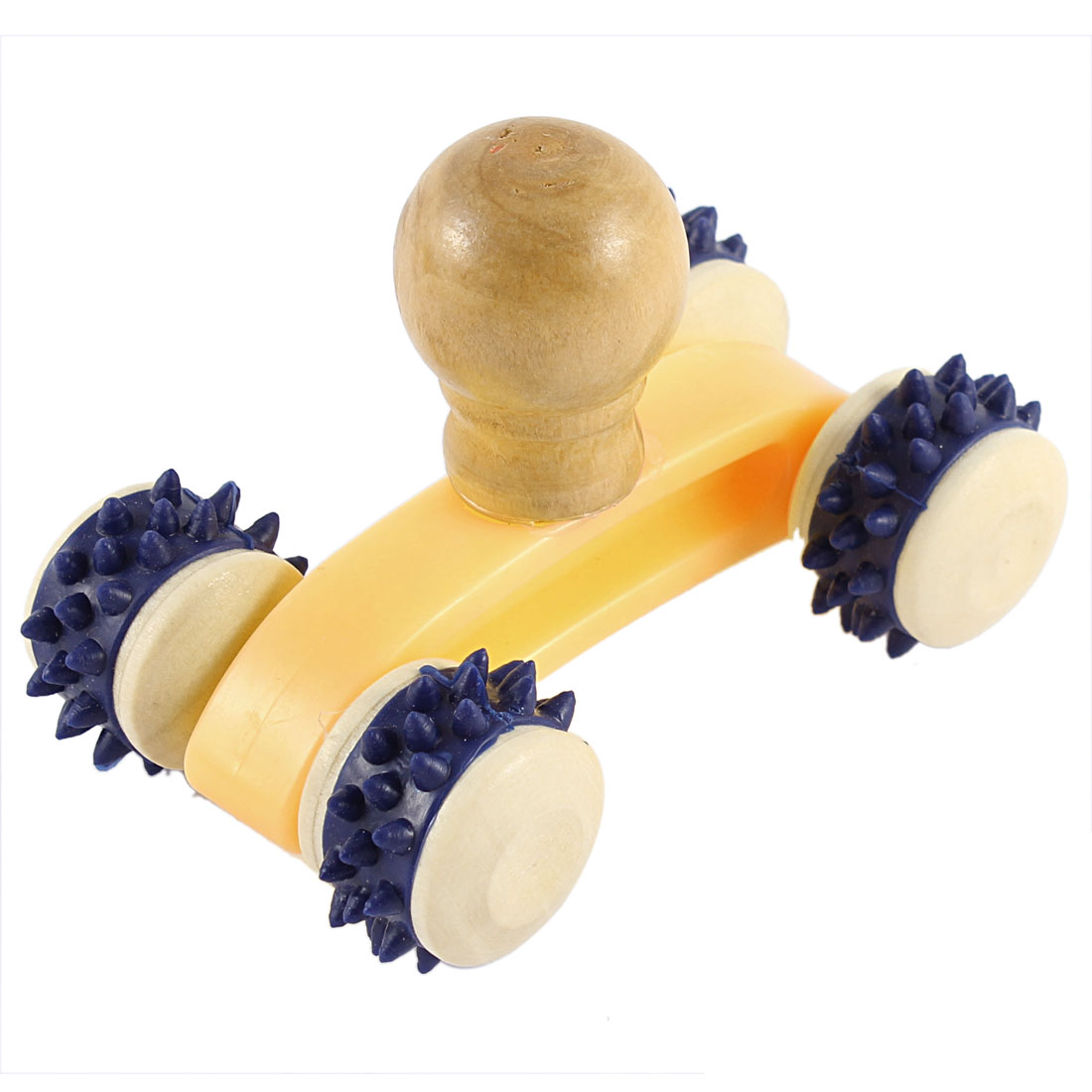 Wooden Handheld Massager Body Muscle Relaxation Massage Roller Tool