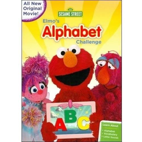 Sesame Street: Elmo's Alphabet Challenge (Full Frame) by Sesame Street