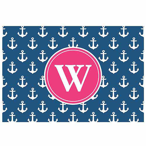 Personalized Anchors Away Doormat