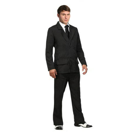 Double Costumes Ideas (Deluxe Pin Stripe Gangster Suit  - Double Breasted Gangster)