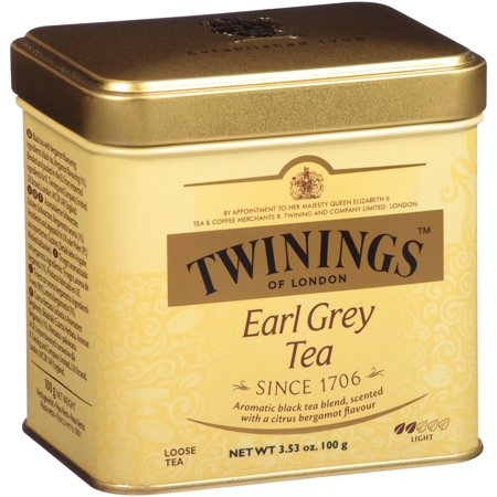 (6 Boxes) Twinings Of London Earl Grey Loose Tea, 100g