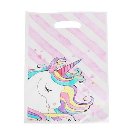 TURNTABLE LAB 2Pcs Plastic Cartoon Unicorn Alpaca Hawaiian Pineapple Party Bags Gift Bags for Unicorn Birthday Party Supplies](Hawaii Birthday)