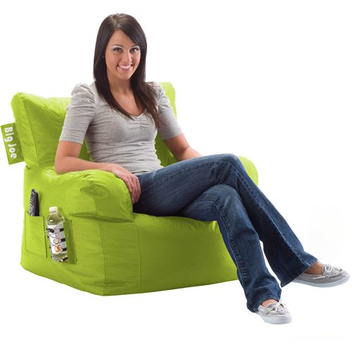 Big Joe Bean Bag Chair, Spicy Lime