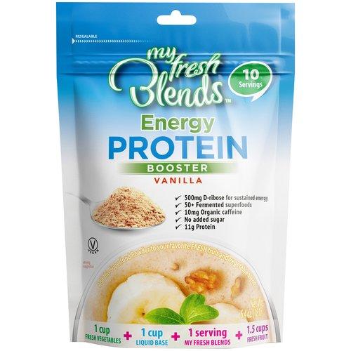 My Fresh Blends Vanilla Energy Protein Booster, 6.4 oz