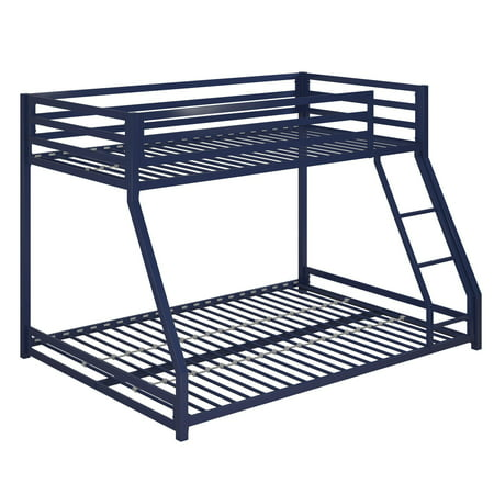 DHP Miles Metal Bunk Bed Frame, Multiple Colors and Sizes