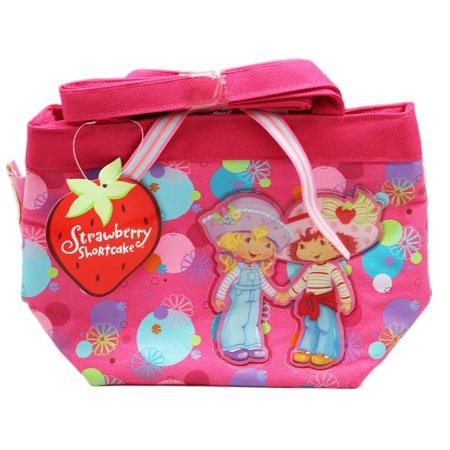 Strawberry Shortcake and Angel Cake Mini Fabric Kids Tote Bag