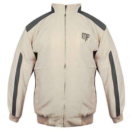 Mountain Fog Mens Beige/Grey Windbreaker Jacket - Walmart.com