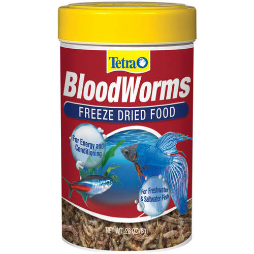 Tetra: Freeze Dried Food Bloodworms, 8 G