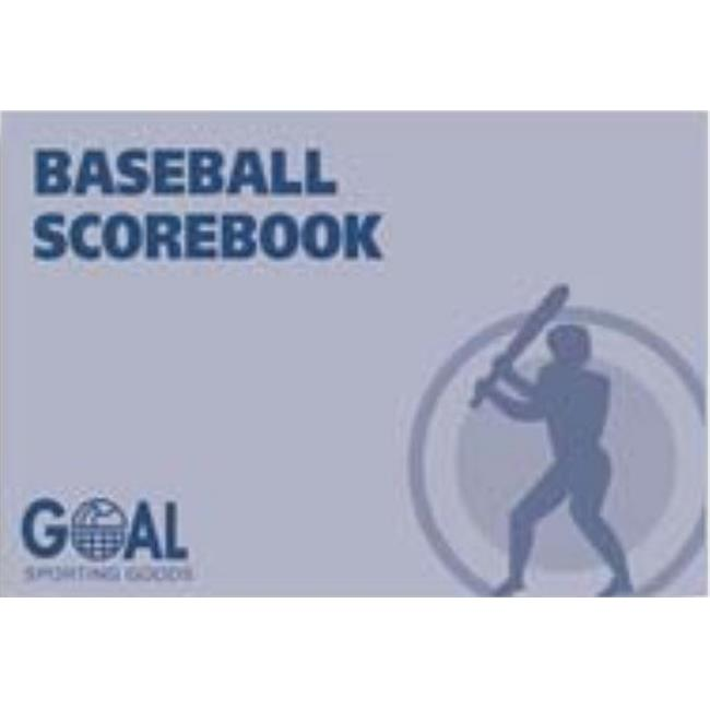 Goal Sporting Goods BSSB5085 Baseball Scorebook by Goal Sporting Goods