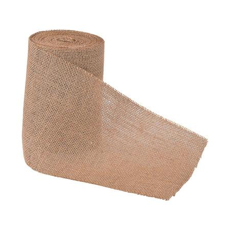 Fun Express - Large Rolled Burlap - Craft Supplies - Bulk Craft Accessories - Felt & Fabrics - 1 Piece (Bulk Fabric)