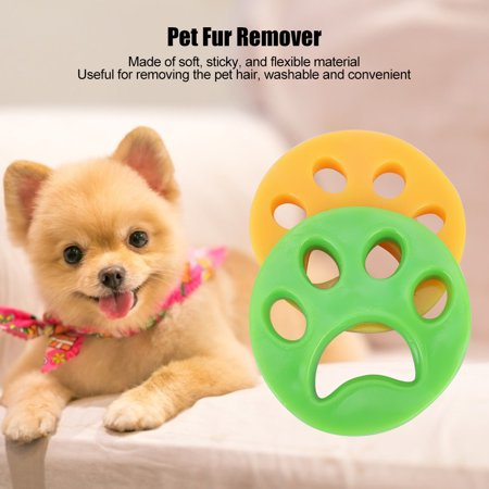 Nosii 2PCS Pet Accessories Sticky Hair Remover Dog Cat Fur Removal for Washing Laundry Dryer(2PCS ) - image 10 of 11