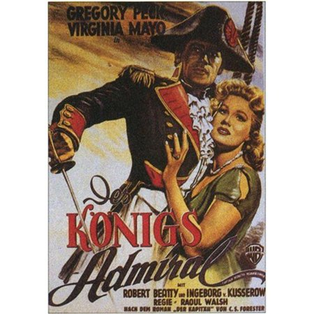Posterazzi MOV212051 Captain Horatio Hornblower Movie Poster - 11 x 17 in. - image 1 de 1