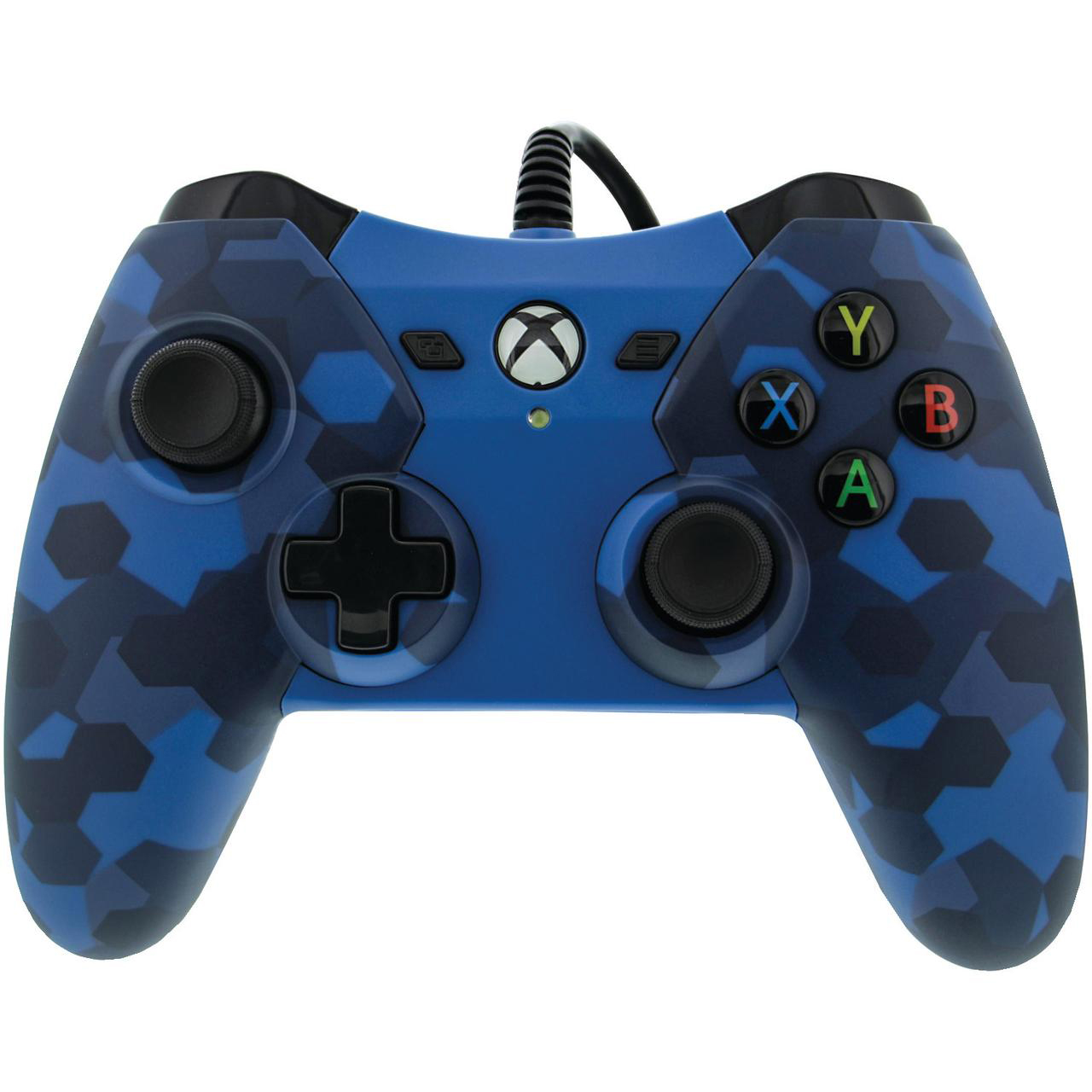 PowerA Wired Controller for Xbox One - Midnight Blue Camo (1503455-01)