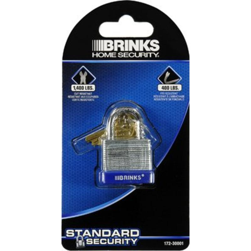 "1-1/4"" Laminated Steel Pin Tumbler Padlock Hampton Products Padlocks 172-30001"