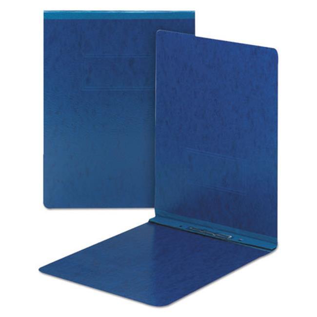 8.5 x 11 in. Top Opening Pressboard Report Cover, Prong Fastener - Dark Blue