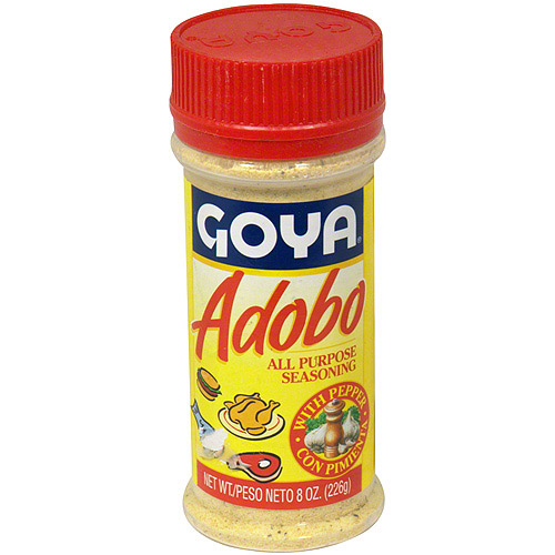 Goya Adobo With Pepper, 8 oz (Pack of 24)