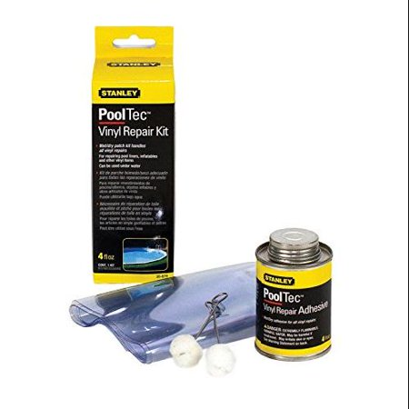 Stanley 30879 4oz Vinyl Repair Kit Wet Or Dry Patching Multi Colored