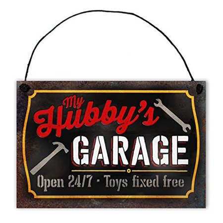 Father's Garage Sign by StudioR12 | 7.5