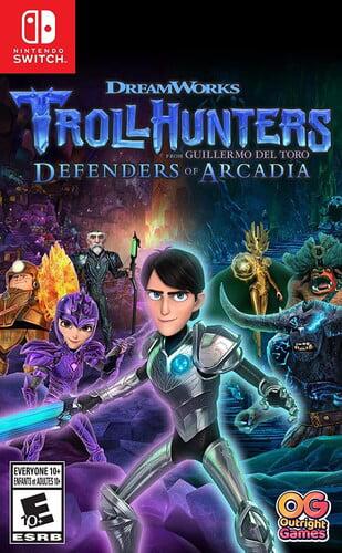 Trollhunters Defenders of Arcadia, U&I ENT, Nintendo Switch