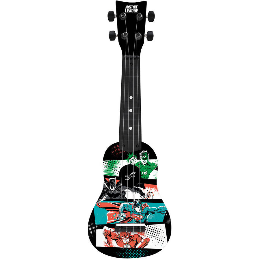 First Act Warner Bros Justice League Ukulele by First Act