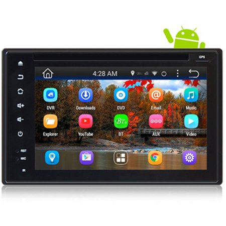 Pyle GPS Android Car Stereo WIFI Double Din, DVD, Navigation, Hands-Free Bluetooth by
