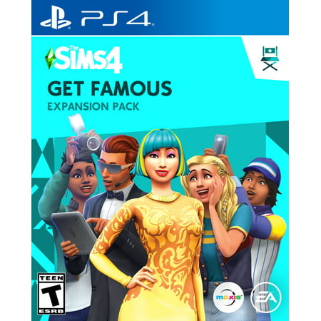 The Sims™ 4 Get Famous Expansion Pack, Electronic Arts, PlayStation, [Digital (Best Ps4 Games To Get)