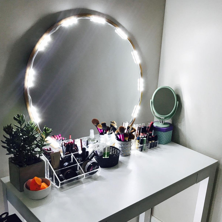 vanity mirror lighting. 10ft led mirror light kit vanity lighted cosmetic makeup with lighting n