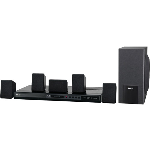 Technicolor, S.A RCA RTB10230 100W Home Theater System with Blu - Ray Player