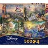 Thomas Kinkade Disney Dreams 4-in-1 Jigsaw Puzzle Multi-Pack Series 3, 4 x 500pc