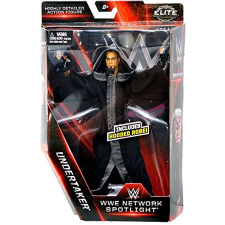 Elite Collection Network Spotlight The Undertaker (Ministry of Darkness) Exclusive Action Figure 7 Inches, Exclusive Elite Collection Undertaker action figure. By - Undertaker Toys