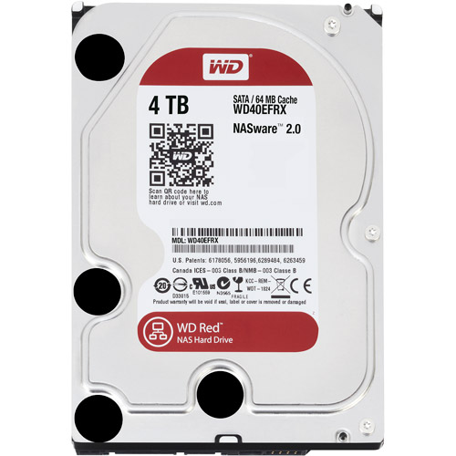 WD Red 4TB Internal Hard Drive for NAS