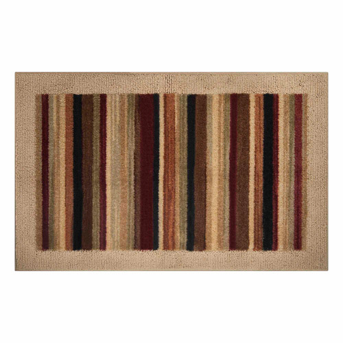 "Better Homes and Gardens Shannon Stripe Accent Rug, 1'7.5"" x 2'8"""