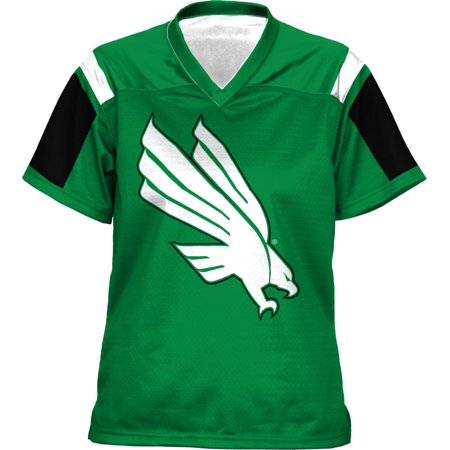 North Texas Football - ProSphere Women's University of North Texas Thunderstorm Football Fan Jersey