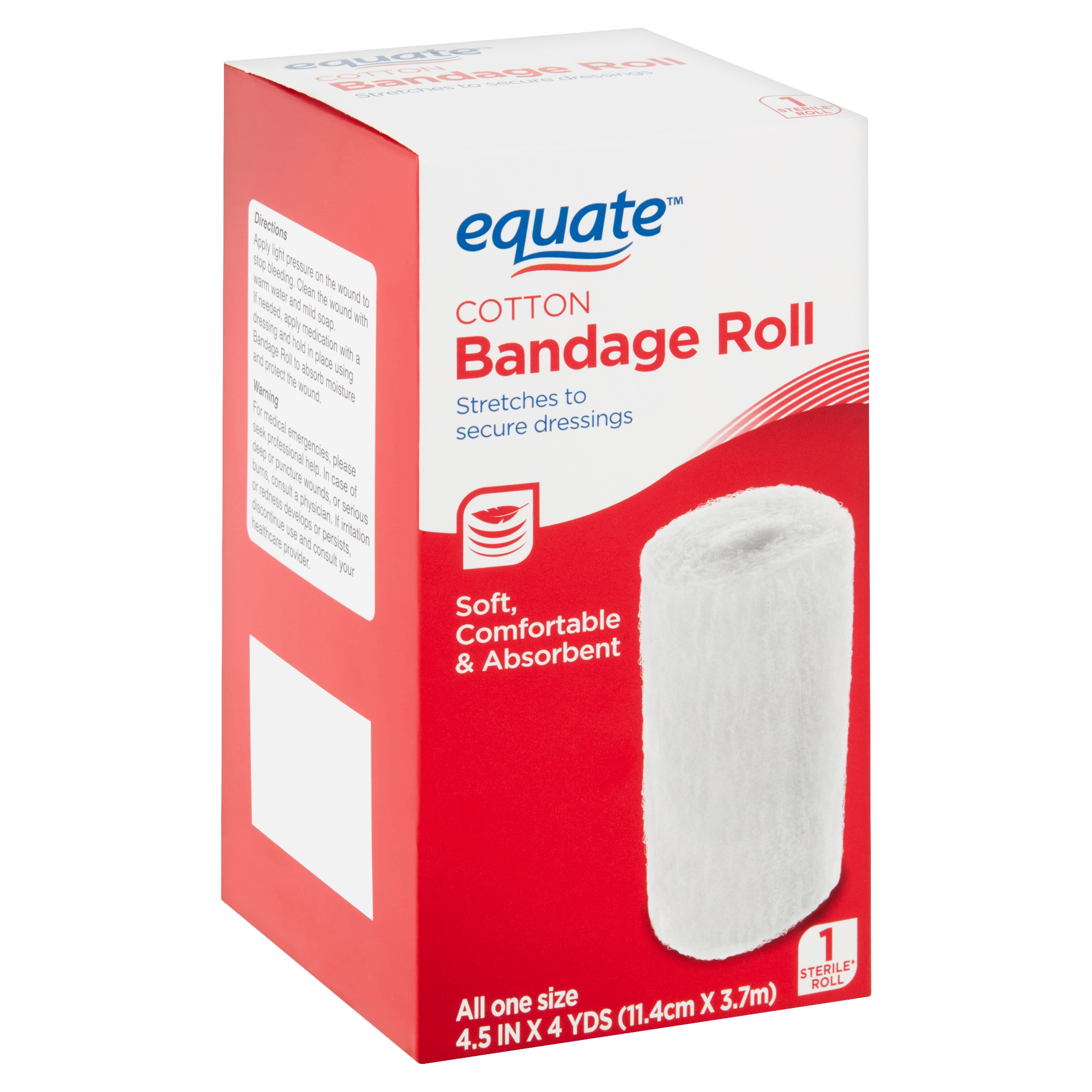 Equate Cotton Bandage Roll